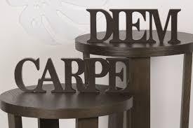 Dekobuchstaben Wohnzimmer Carpe Diem Wanddeko Am Besten Büro Stühle Home Dekoration Tipps