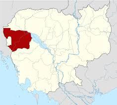 Map Of Cambodia Battambang Province Wikipedia