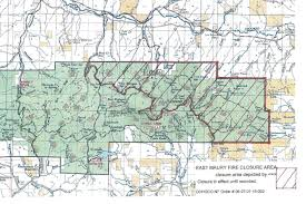 Map Of Oregon Fires by Prescribed Burn Turns To Wildfire In Central Oregon U0027s Ochoco