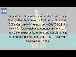 how do i apply for medicaid in florida online youtube