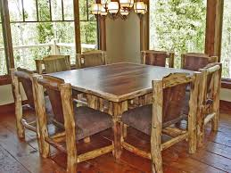 36 dining room table furniture 36 attractive handmade rustic square dining table