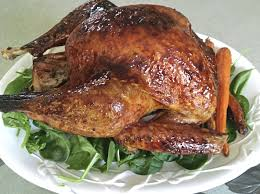whole cooked turkey it both ways for thanksgiving butter baste the turkey serve