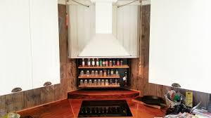 Vintage Wooden Spice Rack Amazing Kitchen Accessories Techethe Com