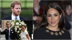 prince harry left pippa middleton u0027s wedding to pick up meghan