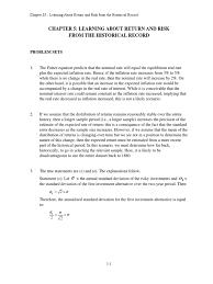 bkm solution chapter 5 interest inflation