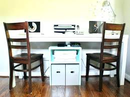 Home Office Desks For Two Two Person Desk Home Office Two Person Desk Home Office With 2