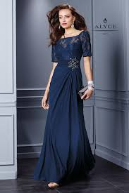 Formal Gowns Evening Dresses With Sleeves Kzdress