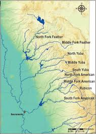 Sierra Nevada Mountains Map Sierra Frogs Breed Insights On River Management California Waterblog