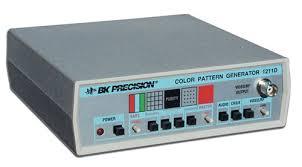 color pattern generator discontinued model 1211d color bar generator b k precision