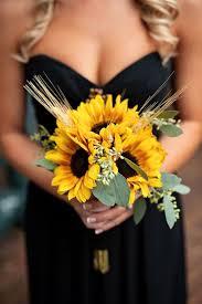 sunflower wedding ideas sunflowers for wedding flowers 25 sunflower wedding bouquets