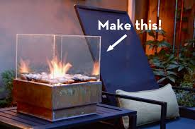 How To Make Fire Pits - make it a sleek outdoor fire pit on the cheap curbly
