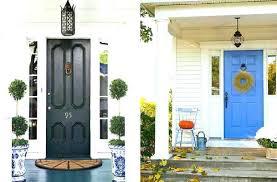 Exterior Door Paint Ideas Blue Front Door Meaning Glassnyc Co