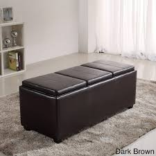 ottomans upholstered storage ottoman coffee table footstools and
