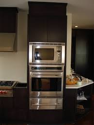 Double Wall Oven Cabinet Frameless Oven And Microwave Cabinets