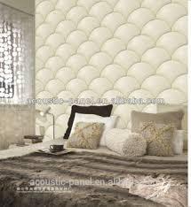 fan foam 3d wall sign fan shape soundproof leather foam wall panel for decoration buy