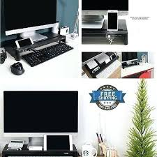 Upright Desk Organizer Upright Desk Organizer Slim Monitor Laptop Multimedia Stand Desk