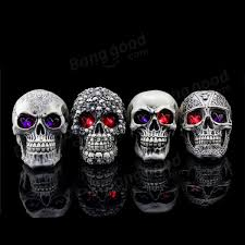 decoration creative terror props resin skull ornaments