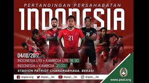 jadwal siaran langsung babak uji coba timnas indonesia tanggal 4