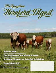 august 2017 canadian hereford digest by canadian hereford