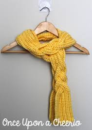 braided scarf rapunzel inspired braided scarf crochet pattern once upon a cheerio