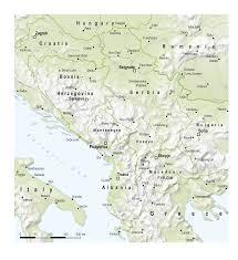 Map Of Balkans Balkans Zoi