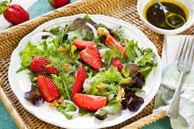 strawberry balsamic salad images u0026 stock pictures royalty free