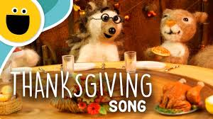 the thanksgiving song sesame studios