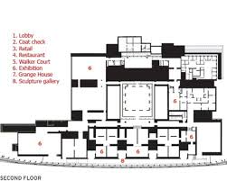 second floor plan art gallery of ontario ago frank gehry