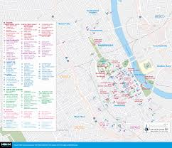 Tourist Map Of New Orleans by Printable Travel Maps Of Tennessee Moon Travel Guides