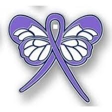 hodgkin s disease awareness month is september lavender ribbon