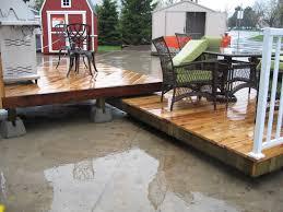 floating deck steps u2014 jbeedesigns outdoor installing floating deck