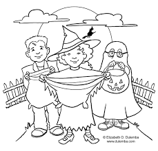 Creepy Halloween Coloring Pages by Free Halloween Coloring Pages