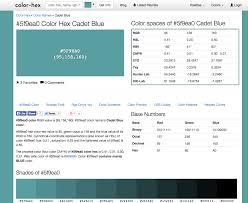 color hex page for web colors u0026 palettes legal design toolbox