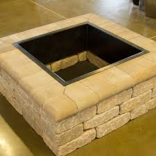 Square Firepit Belgard Weston Square Firepit Outdoor Solutions