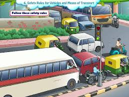 evs class 2 safety rules for vehicles and means of transport