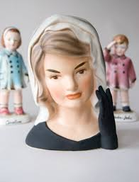 jacqueline kennedy jacqueline jackie kennedy inarco head vase for sale patriotic