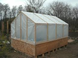 homemade greenhouse backyard chickens