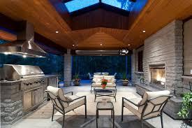 lighting design outdoor covered deck recessed can interior design