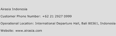 airasia indonesia telp airasia indonesia customer service phone number contact number