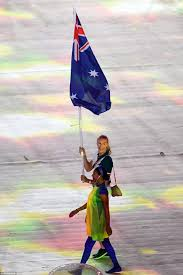 Ceremony Flag Channel Seven Slammed By Olympic Closing Ceremony Viewers Over