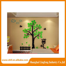 home decoration photo family tree acrylic 3d wall stickers home