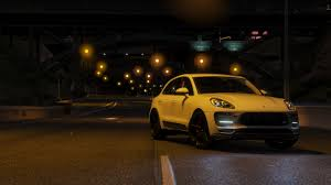 porsche signal yellow 2016 porsche macan turbo add on replace gta5 mods com