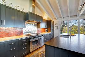 Alternative To Kitchen Cabinets 46 Kitchens With Dark Cabinets Black Kitchen Pictures