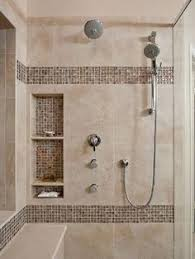 Bathroom Shower Images Large Charcoal Black Pebble Tile Border Shower Accent Https Www
