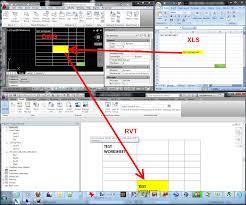Reloading Data Spreadsheet Link Excel Spreadsheet Data Into Revit What Revit Wants