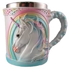 halloween coffee mugs amazon com 3d unicorn mug kitchen u0026 dining
