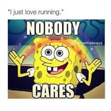 No One Cares Meme Spongebob - spongebob rainbow kappit