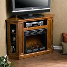 Electric Fireplace Entertainment Center Rustic Corner Electric Fireplace Entertainment Center Oak Stand