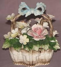 capodimonte basket of roses 178 best capodimonte images on ceramic flowers paper