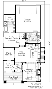 Bungalow Style Floor Plans 36 Best House Plans Images On Pinterest Small House Plans